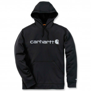 Худи Carhartt Force Extremes Logo Hooded Sweatshirt 102314 (Black/Coal)