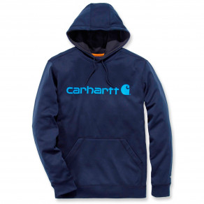 Худи Carhartt Force Extremes Logo Hooded Sweatshirt 102314 (Navy)
