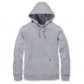 Свитшот женский Carhartt W Clarksburg Pullover Sweat Asphalt 102790 (Heather)