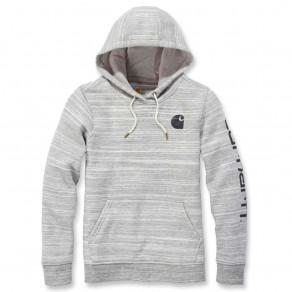 Худи женское Carhartt Clarksburg Pullover Sweatshirt - 102791 (Shadow Space Dye)