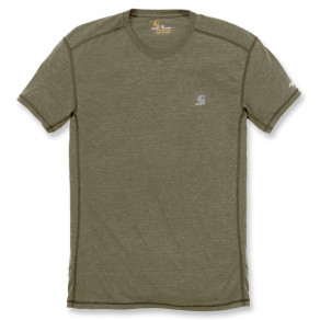 Футболка Carhartt Force Extremes T-Shirt S/S 102960 (Burnt Olive Heather)