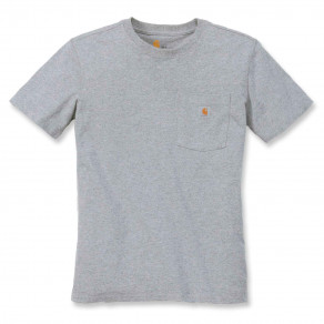 Футболка женская Carhartt WK87 Workwear Pocket T-Shirt - 103067 (Heather Grey)