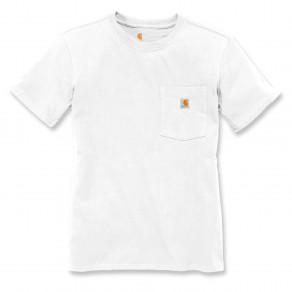 Футболка женская Carhartt WK87 Workwear Pocket T-Shirt - 103067 (White)
