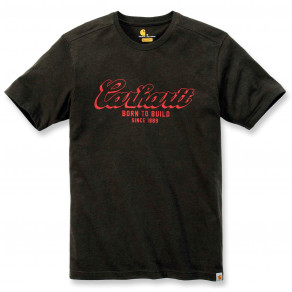 Футболка Carhartt Born To Build Graphic T-Shirt - 103563 (Peat Heather)