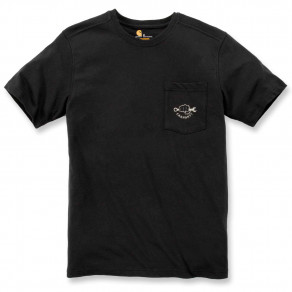 Футболка Carhartt Maddock Strong Graphic S/S T-Shirt - 103565 (Black)