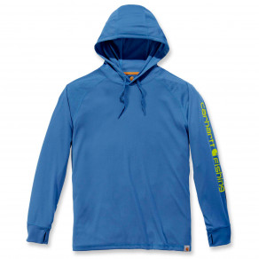 Худи Carhartt Fishing Hooded T-Shirt L/S - 103572 (Federal Blue)