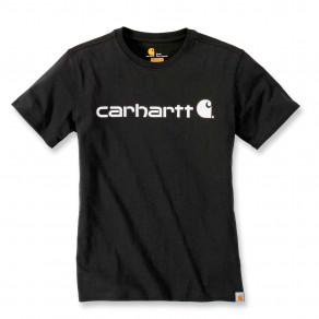 Футболка женская Carhartt WK195 Workwear Logo Graphic S/S T-Shirt - 103592 (Black)