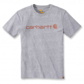 Футболка женская Carhartt WK195 Workwear Logo Graphic S/S T-Shirt - 103592 (Heather Grey)