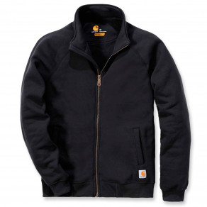 Свитшот на молнии Carhartt Midweight Mock Neck Zip Sweatshirt - K350 (Black)