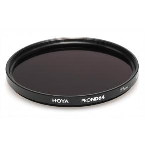 Фильтр нейтрально-серый Hoya Pro ND 64 (6 стопов) 67 мм