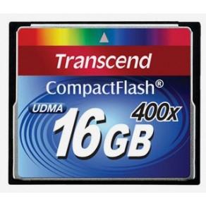 Карта памяти Transcend Premium CF 16GB x400 (TS16GCF400)