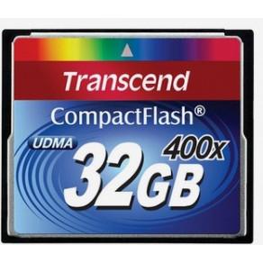 Карта памяти Transcend CF 32GB x400 (TS32GCF400)