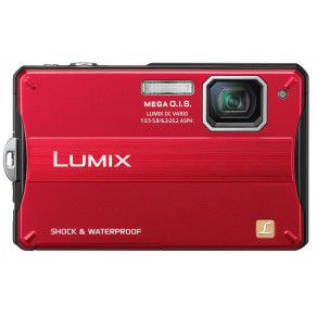 Фотоаппарат Panasonic Lumix DMC-FT10 red
