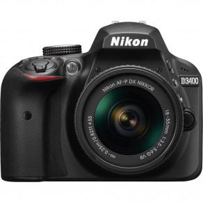 Фотоаппарат Nikon D3400 Kit 18-55 AF-P VR