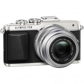 Фотоаппарат Olympus PEN E-PL7 14-42 Pancake Zoom Kit Silver/Silver