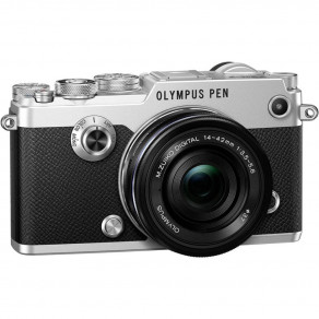 Фотоаппарат Olympus PEN-F Kit Pancake Zoom 14-42 Silver/Black