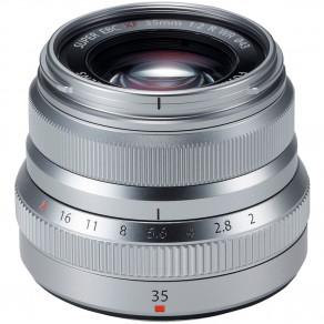 Объектив Fujifilm XF 35mm f/2.0 Silver