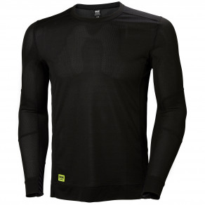 Футболка Helly Hansen HH Lifa Crewneck - 75105 (Black)
