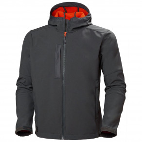 Куртка Helly Hansen Kensington Hooded Softshell - 74230 (Dark Grey)