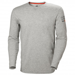 Футболка с длинным рукавом Helly Hansen Kensington Longsleeve - 79242 (Black/Light Grey)
