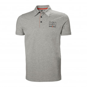 Футболка поло Helly Hansen Kensington Polo - 79241 (Black/Light Grey)