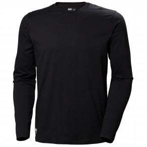 Футболка с длинным рукавом Helly Hansen Manchester Long Sleeve - 79169 (Black)