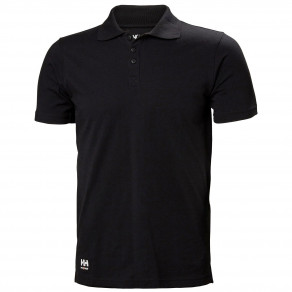 Футболка поло Helly Hansen Manchester Polo - 79167 (Black)