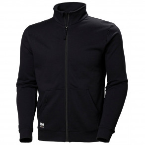 Свитшот на молнии Helly Hansen Manchester Zip Sweatshirt - 79212 (Black)