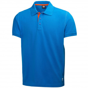 Футболка Helly Hansen Oxford Polo 79025 (Racer Blue)