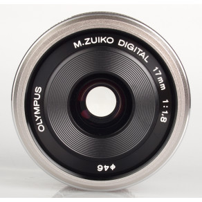 Объектив Olympus M.Zuiko Digital 17mm f/1.8 Silver (EW-M1718)