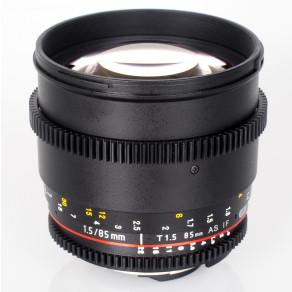 Объектив Samyang Nikon-F 85mm T1.5 AS IF UMC VDSLR (Full-Frame)