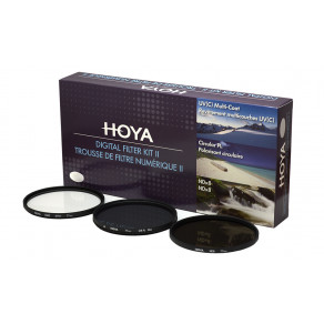 Набор фильтров (UV, Pol, NDx8) Hoya Digital Filter Kit II 62 мм