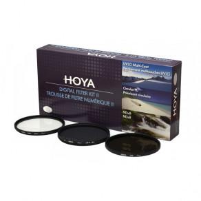 Набор фильтров (UV, Pol, NDx8) Hoya Digital Filter Kit II 72 мм