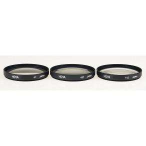 Набор макро фильтров Hoya Close-Up Set (+1,+2,+4) 77 мм