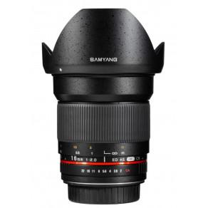 Объектив Samyang Canon-EF 16mm f/2 ED AS UMC CS AE