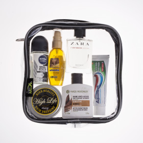 Косметичка Cabin Max Packing Cube, прозрачная (20 х 20 х 5см)