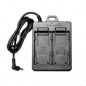 Адаптер питания MyGear RL-2F для LED ламп на две батареи NP-F750/F970