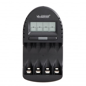 Интеллектуальное зарядное устройство для аккумуляторов AA/AAA La Crosse BC-500