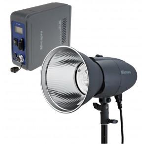 Переносной студийный свет с генератором Mircopro MQ-200P