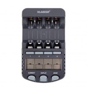 Интеллектуальное зарядное устройство для аккумуляторов AA/AAA La Crosse BC-1000