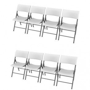 Легкие складные стулья LIFETIME 80191 (8 штук)