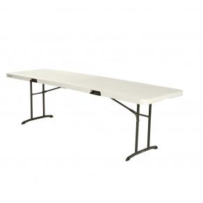 Складной стол-книжка LIFETIME 80175 (245 x 76 x 74 см) Бежевый/Песочно-Бронзовый