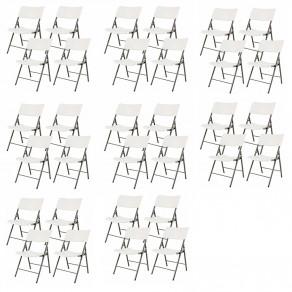 Легкие складные стулья LIFETIME 80191 (32 штуки)