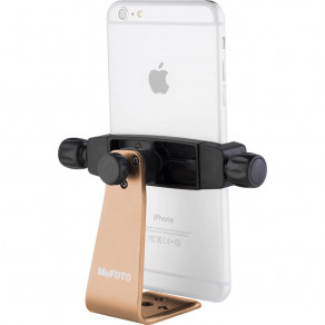 Держатель смартфона 76-91мм MeFOTO Sidekick 360 PLUS Gold