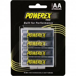 Аккумуляторы Maha Powerex AA 2700mAh PRO 4шт (Made in Japan)