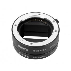 Набор автофокусных макроколец Meike для Sony-E