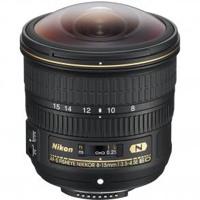 Объектив Nikon AF-S 8-15mm f/3.5-4.5E ED FISHEYE