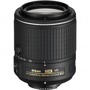 Объектив Nikon AF-S DX 55-200mm f/4-5.6G VR II