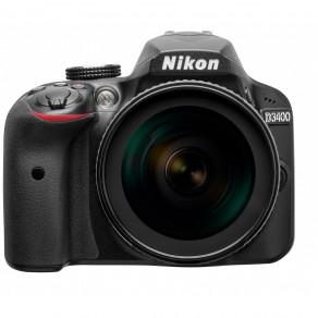 Фотоаппарат Nikon D3400 Kit 18-140 VR Black