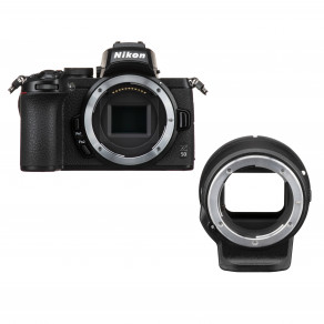 Фотоаппарат Nikon Z50 + FTZ Adapter (VOA050K003)